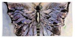 Butterfly Study By Lisa Kaiser Bath Towel