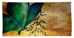 Butterfly Sunrise Hand Towel by Maria Urso