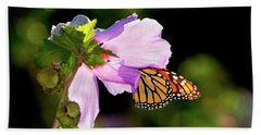 Butterfly Sunset Bath Towel