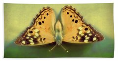 Butterfly Hand Towel by Tony Grider