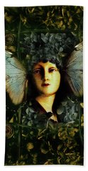Butterfly Woman Hand Towel