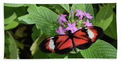 Butterfly World 2 Bath Towel