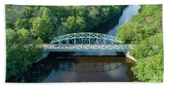 Butts Bridge Summertime Hand Towel