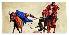 Buzkashi, A Power Game Hand Towel