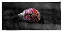 Bw Vulture - Wildlife Bath Towel