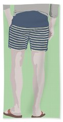 By The Bay Hand Towel by Nicole Wilson