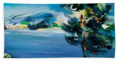 By The Lake Hand Towel