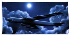 By The Light Of The Blue Moon Bath Towel