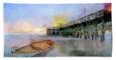 By The Pier Hand Towel