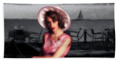Bath Towel featuring the photograph Bygone  ... by Chuck Caramella