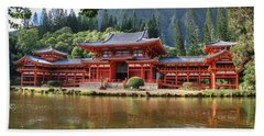 Byodo-in Hand Towel