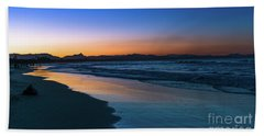 Byron Bay After The Sun Sets Hand Towel