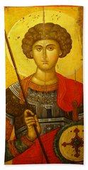 Byzantine Knight Hand Towel
