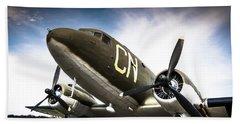 C-47d Skytrain Hand Towel