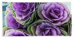 Cabbage Flower Bath Towel
