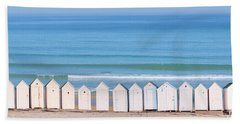 Bath Towel featuring the photograph Cabins by Delphimages Photo Creations