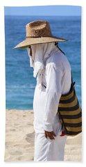 Cabo Beach Hawker. Bath Towel