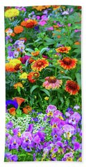 Summer Symphony Of Color Hand Towel