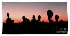 Sonora Desert Sunset Bath Towel