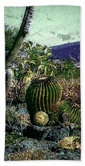 Hand Towel featuring the photograph Cacti by Lori Seaman