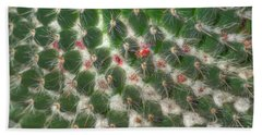 Hand Towel featuring the photograph Cactus 5 by Jim and Emily Bush
