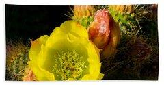 Cactus Blossom  Hand Towel