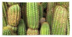 Cactus City Hand Towel