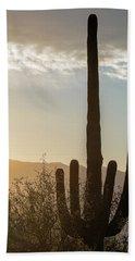 Cactus Dancing Hand Towel