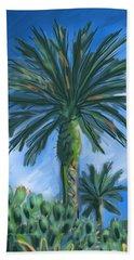 Cactus Garden Hand Towel