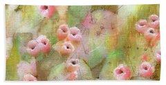 Cactus Rose Bath Towel