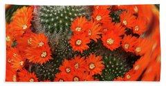 Cactus Swirl Hand Towel