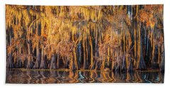 Caddo Abstract Trees Hand Towel