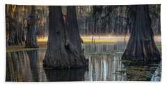 Caddo Lake Grove Hand Towel