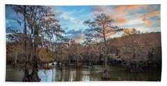 Caddo Lake Sunrise Hand Towel
