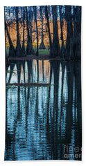 Caddo Long Shadows Hand Towel
