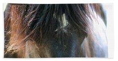 Cades Cove Horse 20160525_244 Bath Towel by Tina Hopkins