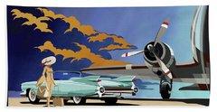 Cadillac Eldorado 1959 Bath Towel by Sassan Filsoof