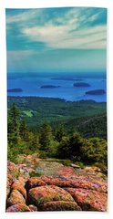 Cadillac Mountain Bath Towel