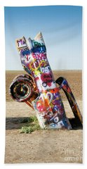 Cadillac Ranch, West Texas Bath Towel