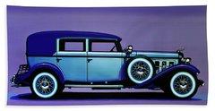 Cadillac V16 1930 Painting Bath Towel