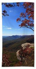 Caesars Head State Park In Upstate South Carolina Hand Towel