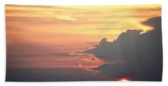 Hand Towel featuring the photograph Cajun Summer Sunset by John Glass