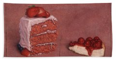 Cakefrontation Hand Towel