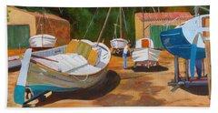 Cala Figuera Boatyard - I Hand Towel