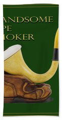 Calabash Pipe For Handsome Smokers Bath Towel