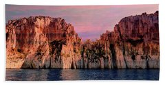 Calanques De Marseille .  Hand Towel