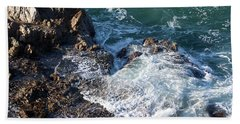 Hand Towel featuring the photograph California Beauty by Michael Rock