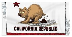 California Budget Iou Bath Towel
