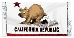 California Budget Iou Hand Towel