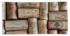 California Corks Bath Towel